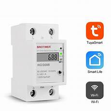 Sinotimer Wds688 230v Smart Wifi Single by Other Electronic Components Equipment Sinotimer Wds688