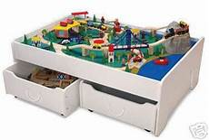 brio eisenbahn tisch kidkraft table trundles drawers thomos brio new