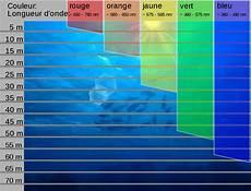 licht und wasser gibt es in dieser geraden form file absorption des couleurs sous l eau svg wikimedia