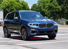 new bmw x3 m40i seen for the first time the road