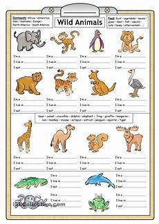 learning animals worksheets 13934 learning about animals for worksheets search hojas de trabajo de escritura