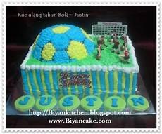 Biyancakes Kue Ulang Tahun Bola Justin