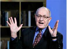 dershowitz latest