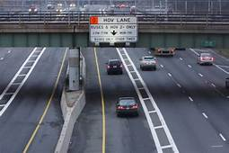 Limited Access HOV Lanes Increase Accidents