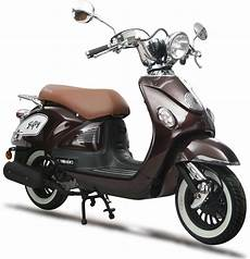 Eurocka Scooter Fifty 50cc 4t Marron Immat Achat Vente