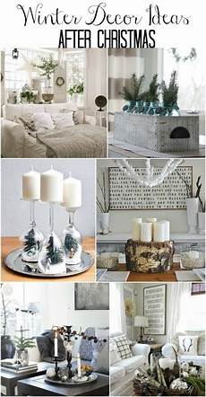 Home Decor Ideas For Winter winter mantel and winter shelf decorating ideas wood