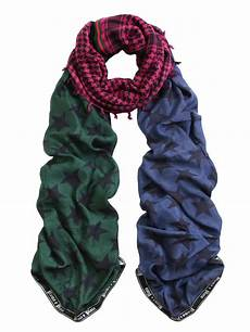 plomo o plata merged scarf 2012 oversize patchwork