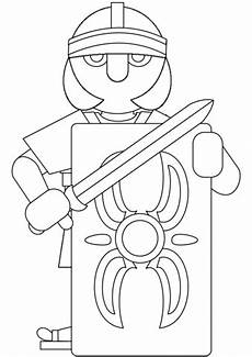 Ninjago Malvorlagen Rom Gladiator Ausmalbilder Romer