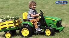 tracteur 233 lectrique peg perego deere ground