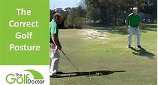 correct golf swing how to achieve the correct golf posture for your golf