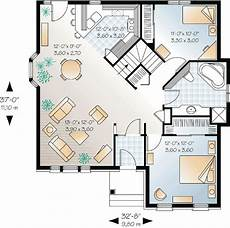 small house floor plan small house plan with open floor plan 21210dr