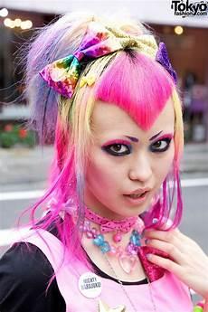 harajuku style hair 6 dokidoki vani s kawaii pink hairstyle colored