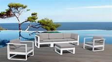 Salon De Jardin Aluminium Haut De Gamme 5 Places St Tropez