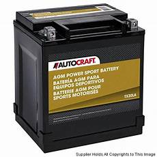 Autocraft Motorcycle Battery Application Chart Carquest Part Information