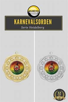 Silber Oder Gold Die Karnevalsorden Der Serie Heidelberg