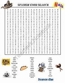 spanish word search puzzle product from dayworks on