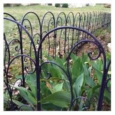 bordure fer pour jardin