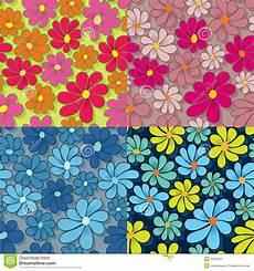 Flower Power Muster Vektor Abbildung Illustration