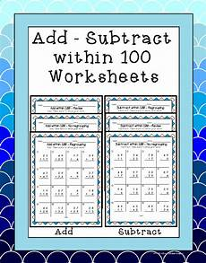 subtraction within 100 with regrouping worksheets 10729 adding and subtracting within 100 2 nbt 5 worksheets students and number