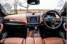 maserati levante interior sat nav dashboard what car