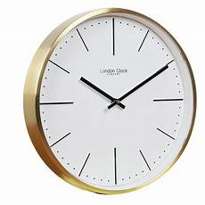 classic themed wall clock with gold