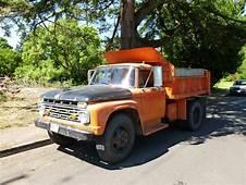 Curbside Classic 1964 Ford F600 Dump Truck – Still Hard