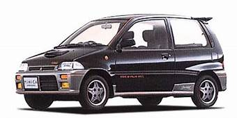 1989 Mitsubishi Minica Dangan ZZ Related Infomation