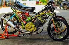 Modif Satria Fu Harian by 55 Foto Gambar Modifikasi Motor Satria Fu Drag Race Style