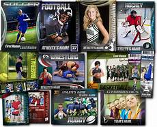 photoshop sports card template free sports photoshop templates