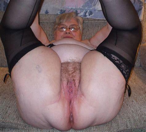 Nasty Granny Pussy