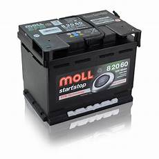 moll start stop batterie 12v 60ah 600a autobatterien