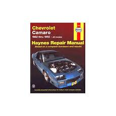 hayes auto repair manual 1993 chevrolet camaro engine control camaro service manuals haynes chilton factory