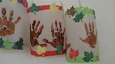 laternen igel handabdruck basteln toddler crafts