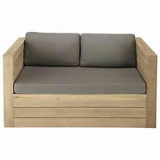 divanetto esterno divanetto da giardino in legno 2 posti br 233 hat maisons du