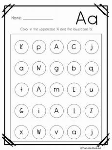 letter recognition worksheets for preschoolers 23276 alphabet letter find worksheets uppercase and lowercase teaching reading teaching numbers