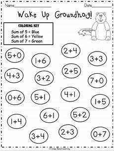 groundhog day math worksheet for numbers madebyteachers