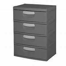 In Drawer Storage by Upc 073149017437 Sterilite 4 Drawer Heavy Duty Gray