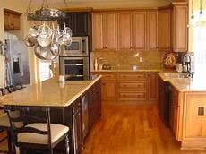 kitchen white granite with maple cabinets for