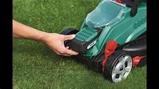 bosch rotak 32 li cordless mower review