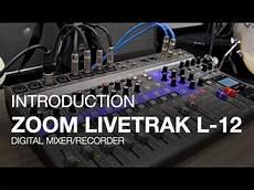 zoom r 8 review zoom livetrak l 12 live mixing desk and recorder pmt