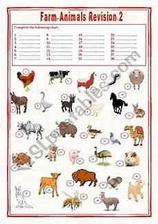 animal farm revision worksheets 14028 farm animals revision 2 esl worksheet by karagozian