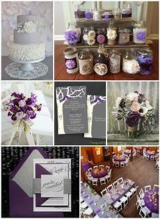 Purple Grey Wedding Ideas purple gray wedding ideas rustic wedding chic