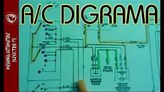 aire acondicionado automotriz diagrama electrico basico youtube