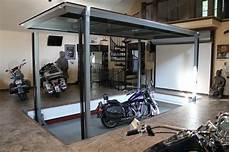 Car Elevator Garage by Auto Elevator Phantompark Contemporary Garage And Shed