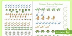 dinosaurs counting worksheets 15283 dinosaur counting to 20 activity count 1 20 dinosaurs number skills