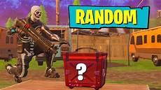 the random ammo box fortnite challenge youtube