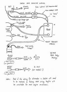 sr20det alternator starter wiring the 510 realm
