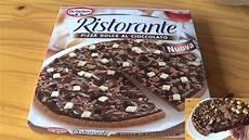 Ristorante Schokoladen Pizza Test Dolce Al Cioccolato