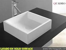 corian roma lavabos square cuadro y roma en solid surface reformas