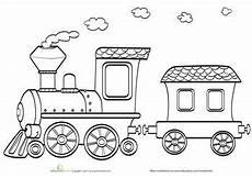 Ausmalbilder Zug Mit Waggons Coloring Page Coloring Pages Coloring